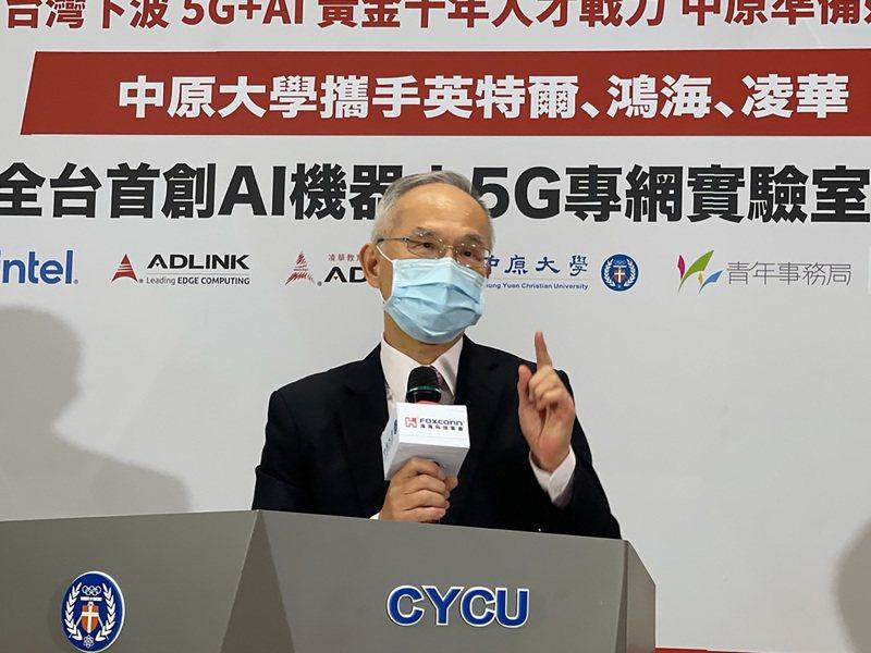 鴻海集團副總裁呂芳銘。 中央社