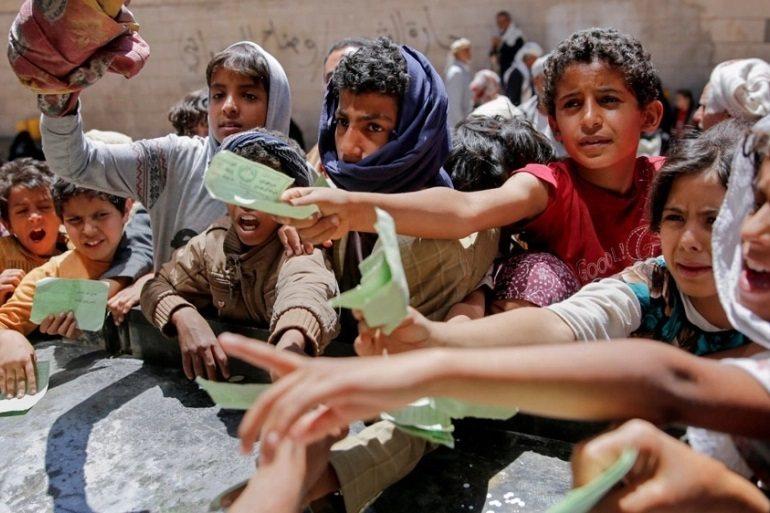 多達250個非政府組織罕見聯合發聲,呼籲各國政府重視嚴重的飢餓問題。(Photo from網路截圖)