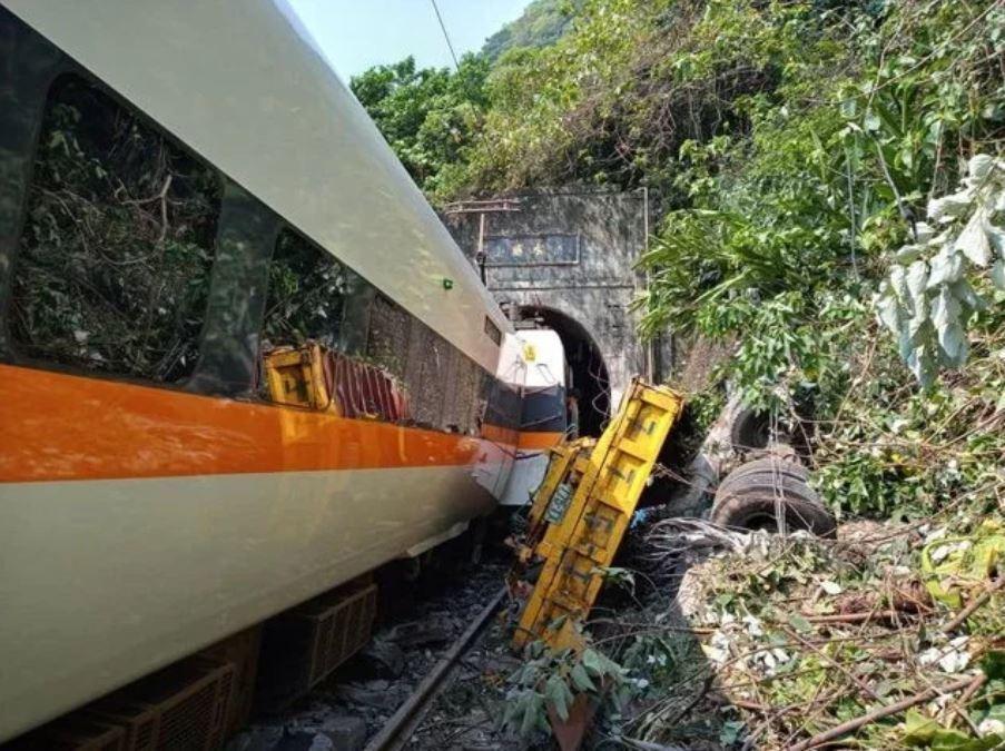 台鐵太魯閣號發生嚴重事故。記者王思慧/攝影