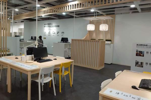 IKEA內湖店提供居家規劃服務。記者何秀玲/攝影