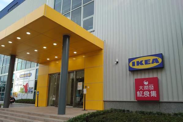 IKEA內湖店一樓與大潤發進行複合式經營,為台灣IKEA首見。記者何秀玲/攝影