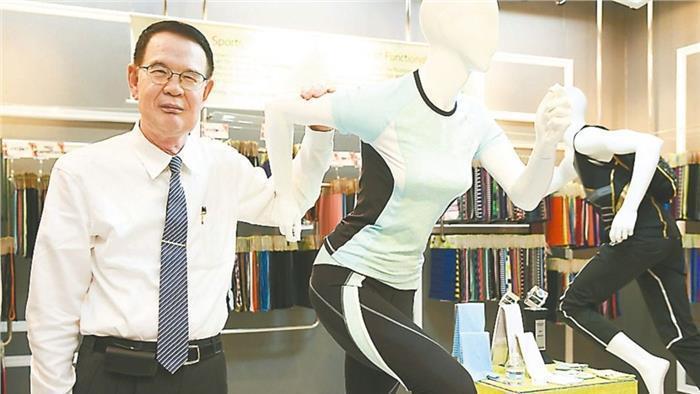 儒鴻董事長洪鎮海。報系資料照