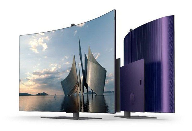 創維65吋OLED可彎曲電視售價人民幣2.9萬元。圖:取自創維官網
