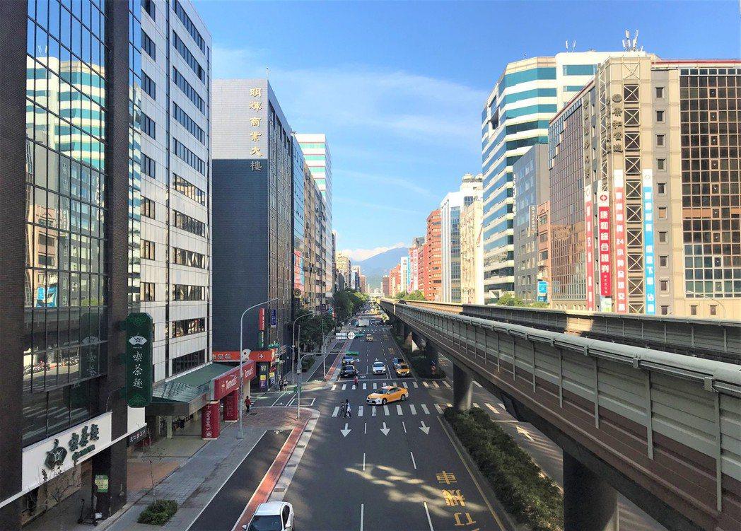 北市街景。記者游智文/攝影