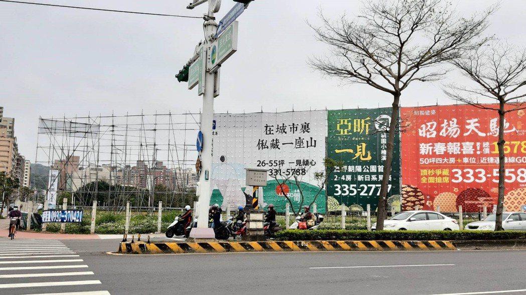 北台灣待售建案數量有感減少。記者游智文/攝影