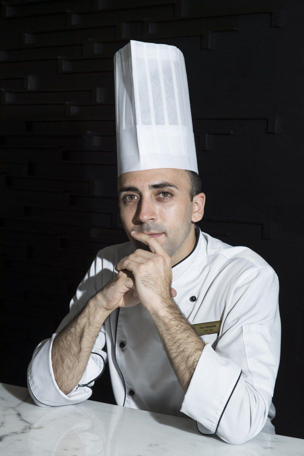 香格里拉台北遠東飯店法籍甜點主廚胡孟洋。照片/業者提供