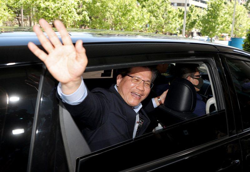 林佳龍為台鐵太魯閣號事故請辭下台,卸任交通部長。圖/聯合報系資料照片