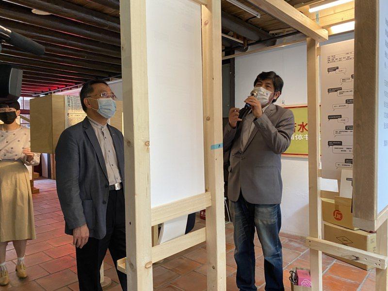 日前傳出副市長蔡炳坤因心力交瘁請辭,最終受到柯文哲極力慰留。對於柯如何慰留,他表示,心存善念盡力而為。記者潘才鉉/攝影