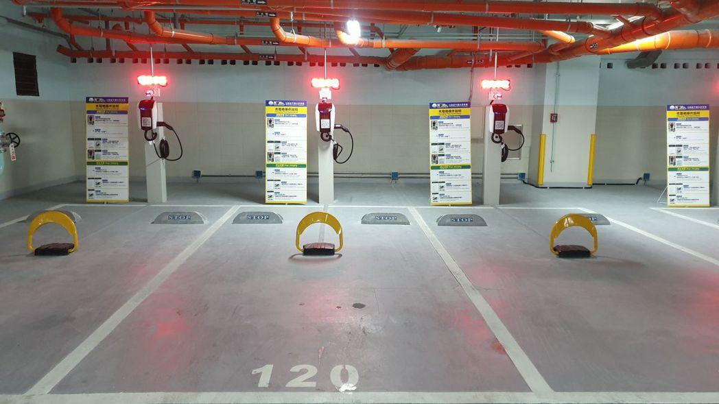 延平國小地下停車場今起啟用,即日起至5月9日試營運免費停車。記者胡瑞玲/攝影