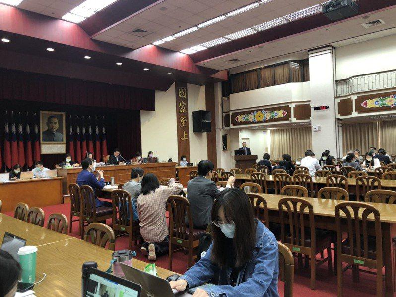 立法院今辦國務機要費除罪化公聽會。記者李承穎/攝影