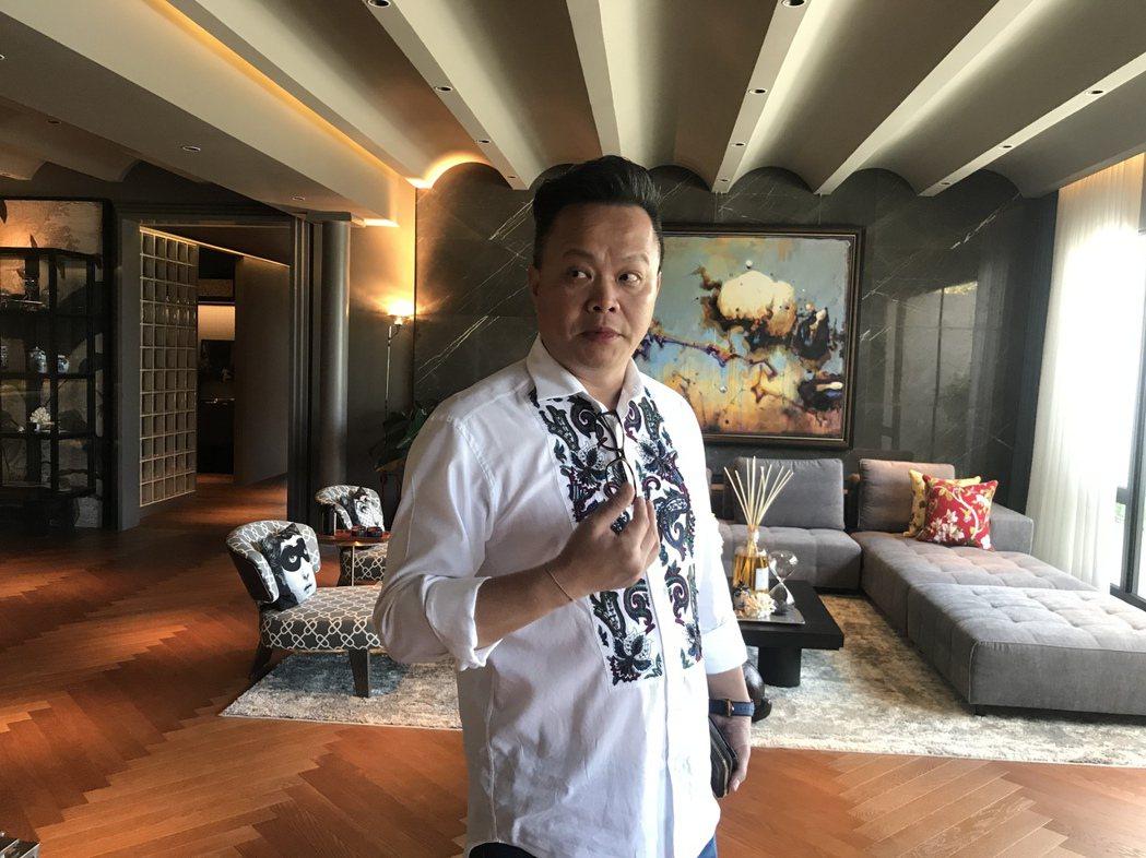 京懋建設執行長范秉豐。記者游智文/攝影