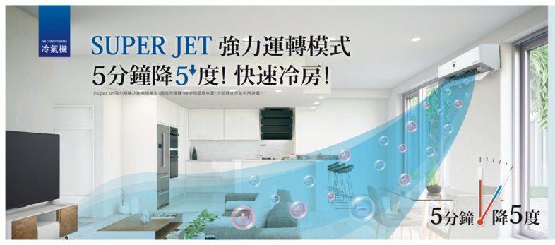 台灣夏普推出能源效率一級變頻冷暖空調 響應政府前瞻計畫。圖/夏普提供