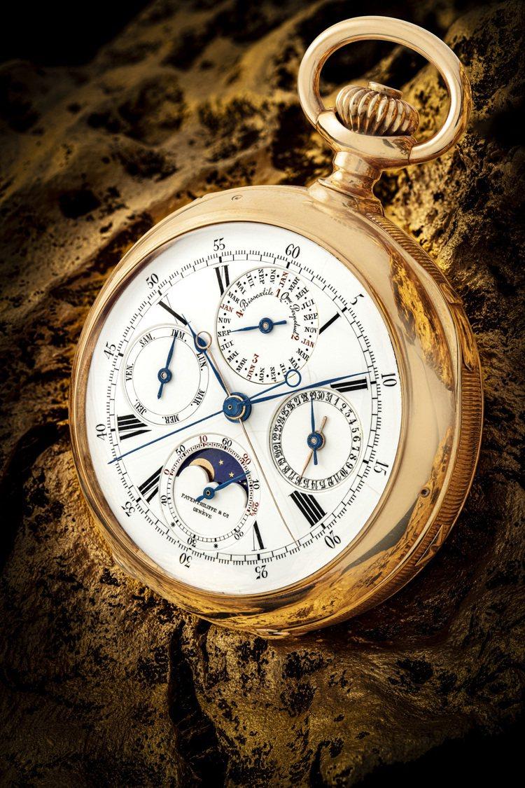 佳士得首場鐘表晚間拍賣「驚世傳奇」呈獻百達翡麗最早期的超級複雜功能時計、獨一無二...