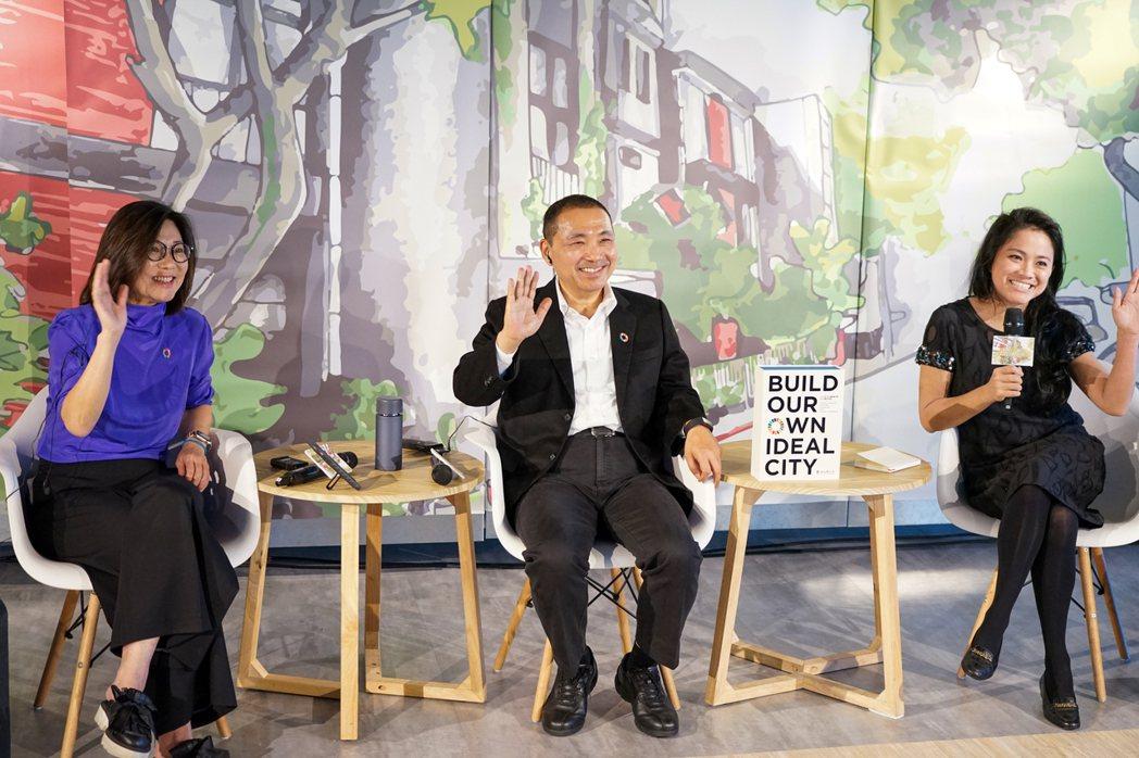 侯友宜說,新北市除了被評選為台灣永續城市第一名,市府發布的地方自願檢視報告(VL...