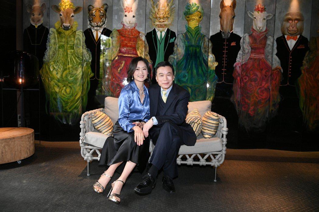 李天柱(右)和劉瑞琪在戲中演夫妻。圖/三立提供