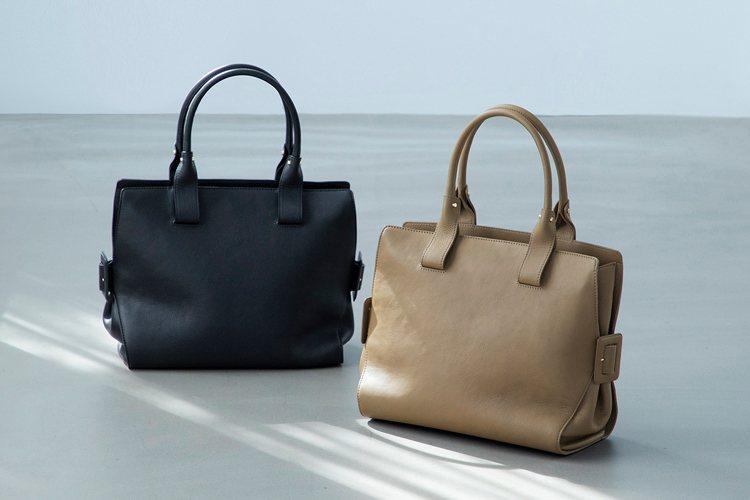 土屋鞄製造所Gusset code托特包約25,000元。圖/土屋鞄製造所提供