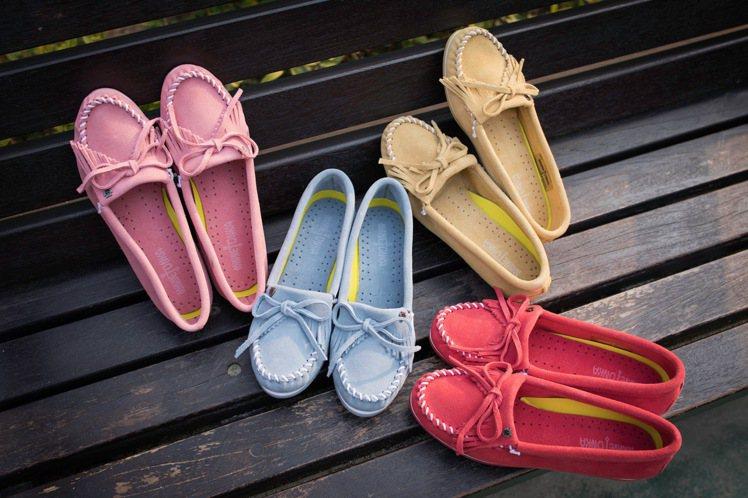 Minnetonka Kilty Plus鞋2,680元。 圖/Minneton...