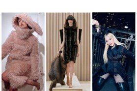 BURBERRY秀Gigi兔寶寶裝 瑪丹娜、坎達爾珍娜跪著拍