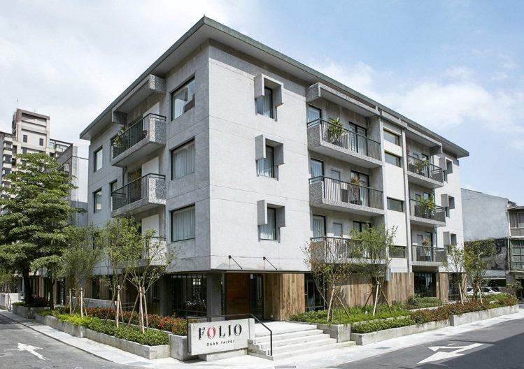 富邦藝旅 Folio Hotel前身是合作金庫舊宿舍。圖/Folio Hotel...