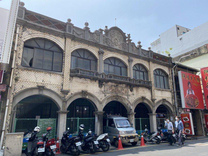 位於新竹北門街的老宅周益記,已有百年歷史。記者王駿杰/攝影