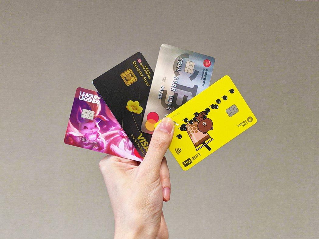 刷卡繳稅,中信銀首推18期分期0利率。中信銀行/提供