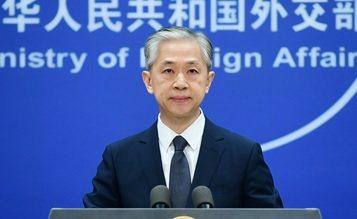 大陸外交部發言人汪文斌。圖/取自大陸外交部網站