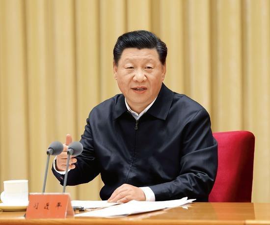 大陸國家主席習近平今(22)日晚間在北京以視頻方式出席,美國主辦的領導人氣候峰會,發表重要講話。(圖/取自新浪網)