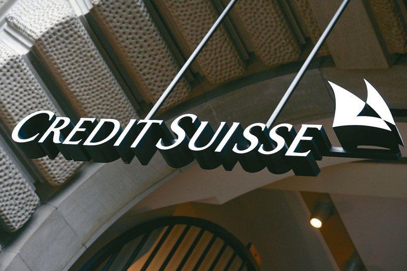 瑞士信貸集團表示,第1季虧損2.52億瑞郎(2.75億美元),凸顯Archegos資本管理公司融資斷頭事件的衝擊。(美聯社)