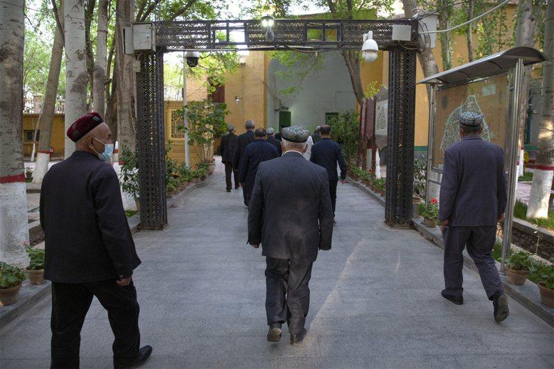 新疆少數民族的人權議題引國際關注。美聯社
