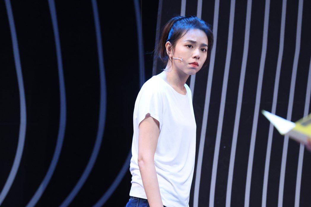 夏宇喬「Space Boy」星空男孩舞台劇彩排。記者王聰賢/攝影
