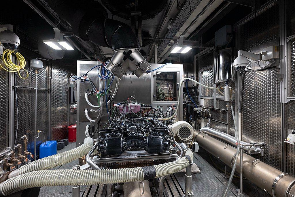 保時捷911 GT3與911 GT3 Cup賽事所使用的引擎幾乎如出一轍。最大馬...