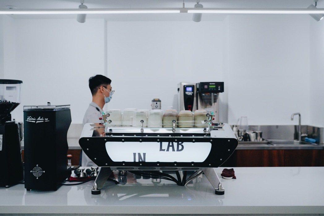 去年11月開幕的IN LAB以實驗性格屢屢展開新企劃。 圖/沈佩臻攝影
