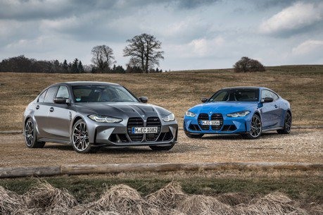 0-100km/h加速只要3.5秒 終於等到四驅版BMW M3與M4 Competition!