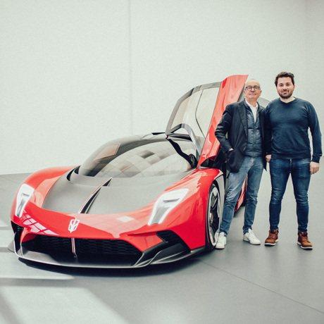 2021上海車展/千匹馬力!紅旗S9頂級油電超跑誕生