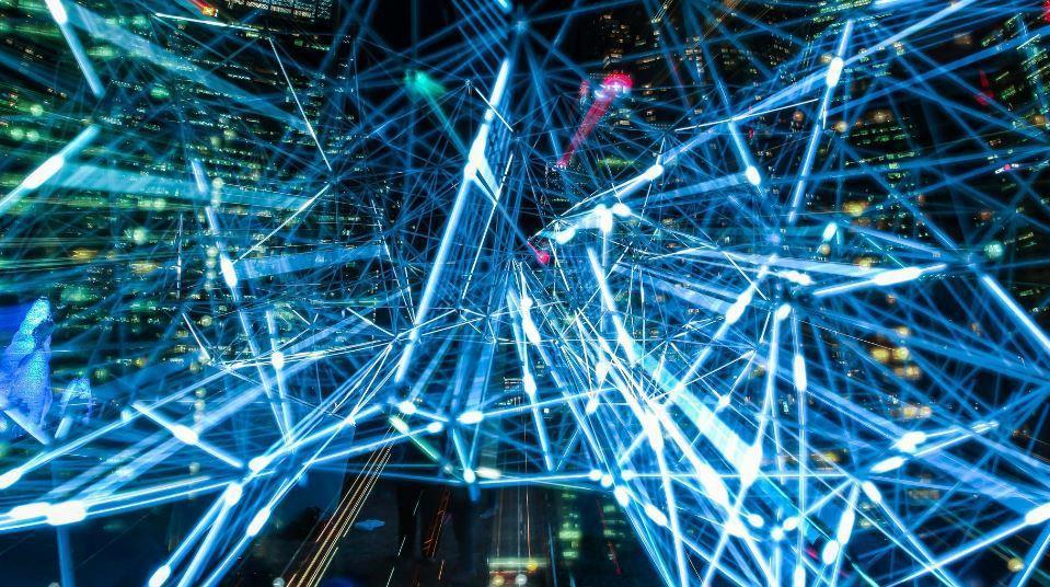 數位經濟示意圖,晶華國際酒店集團董事長潘思亮表示,疫情加速數位經濟全球化。圖/P...