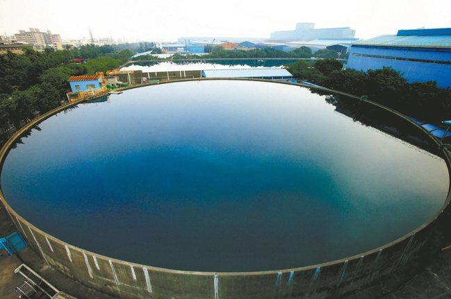 中鋼在多元用水政策也有著墨。 中鋼提供