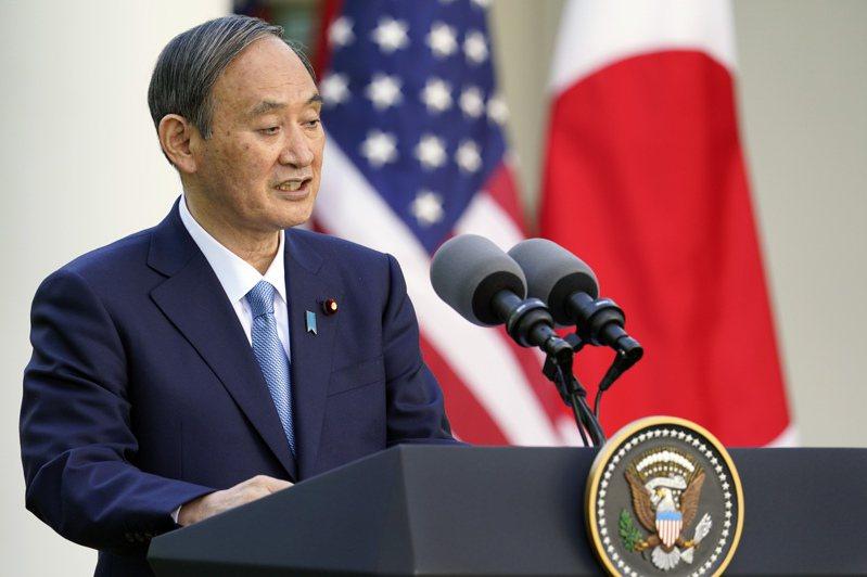 日本首相菅義偉。圖/美聯社