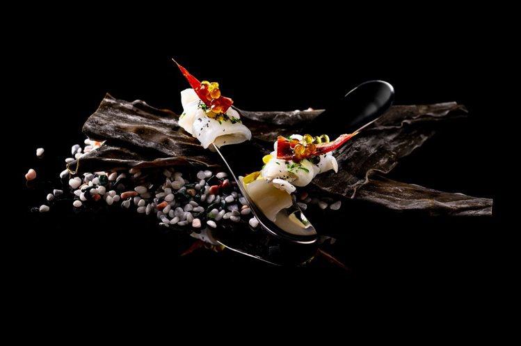 山與海。 圖/DNA Spanish Restaurant提供。
