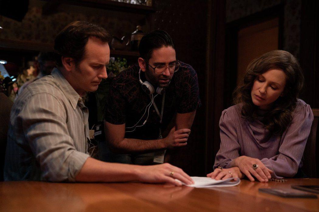 「厲陰宅3:是惡魔逼我的」原創導演溫子仁這回退居製片。圖/華納兄弟提供