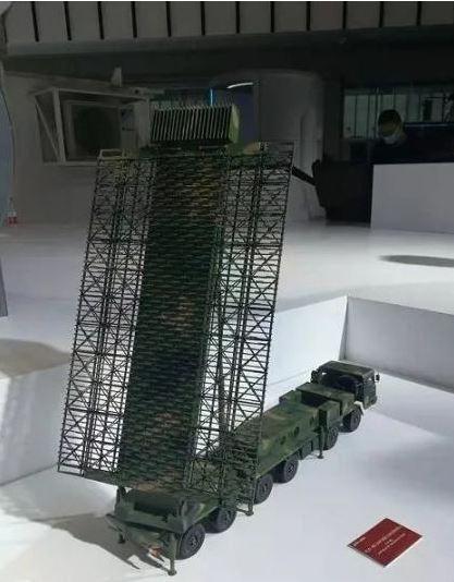 中國反隱身雷達旗艦型號——YLC-8E機動式預警相控陣雷達模型。圖源:澎湃新聞