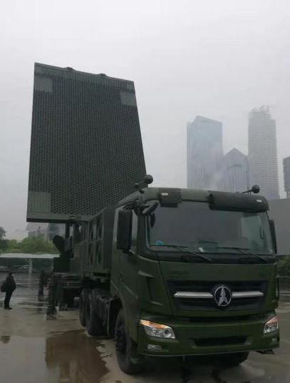 JY-26遠端三座標對空警戒雷達。圖源:澎湃新聞