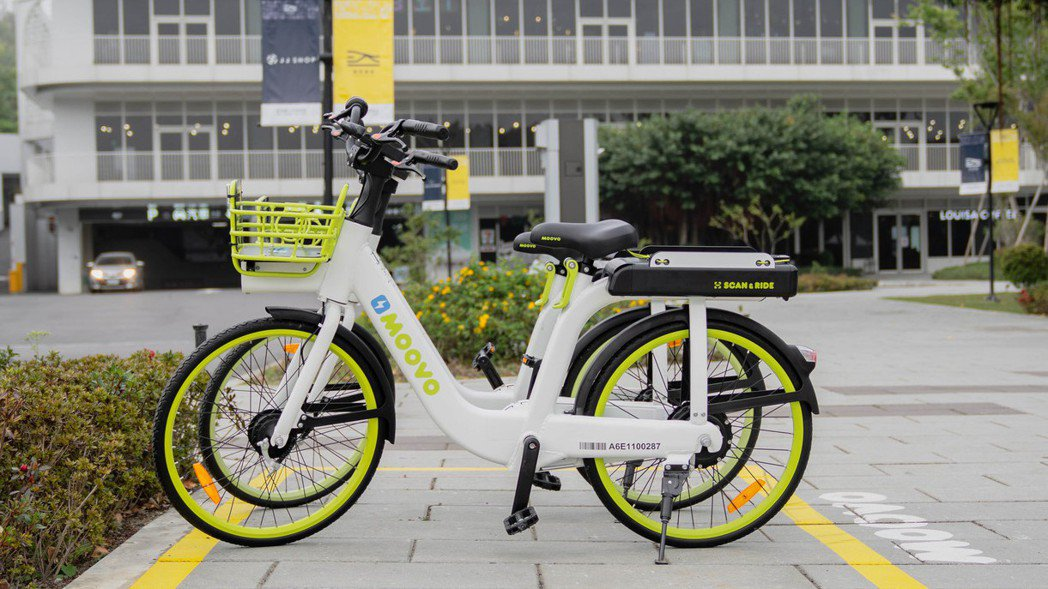 新創Moovo電動輔助單車在淡水試營運,以智慧樁電子圍籬讓單車擺脫實體樁控制,以...