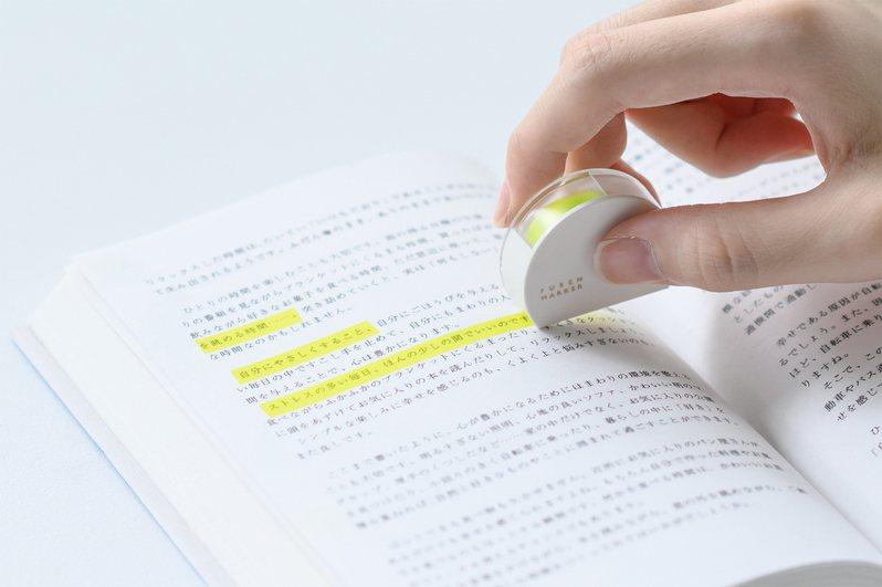 美型便利手帳裝飾標記帶/215元。圖/台隆手創館提供