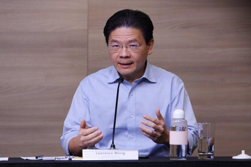 為防止印度變種病毒入侵,新加坡跨部會抗疫工作小組聯合領導人黃循財22日表示,將進一步限縮對印度的邊境管制。圖/中央社