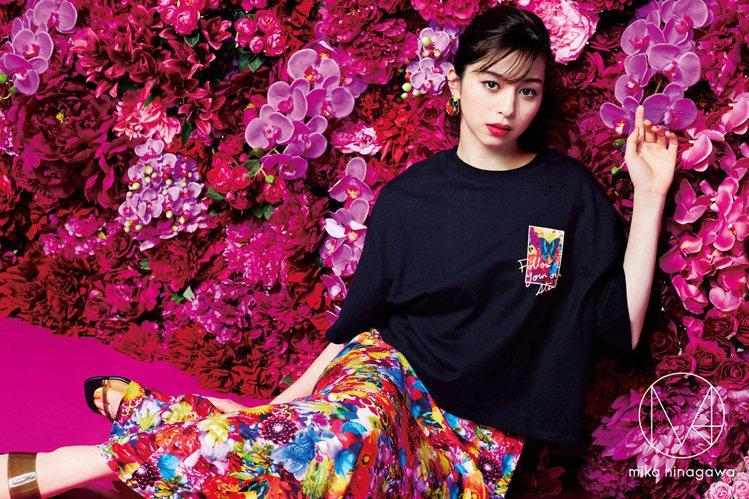GU宣布與知名攝影師、導演蜷川實花的品牌M / mika ninagawa合作,...