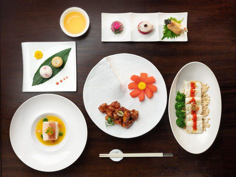 台北文華東方酒店「雅閣」中餐廳迎來主廚張國邦領軍掌杓,推出一系列招牌新菜。圖/台北文華東方酒店提供