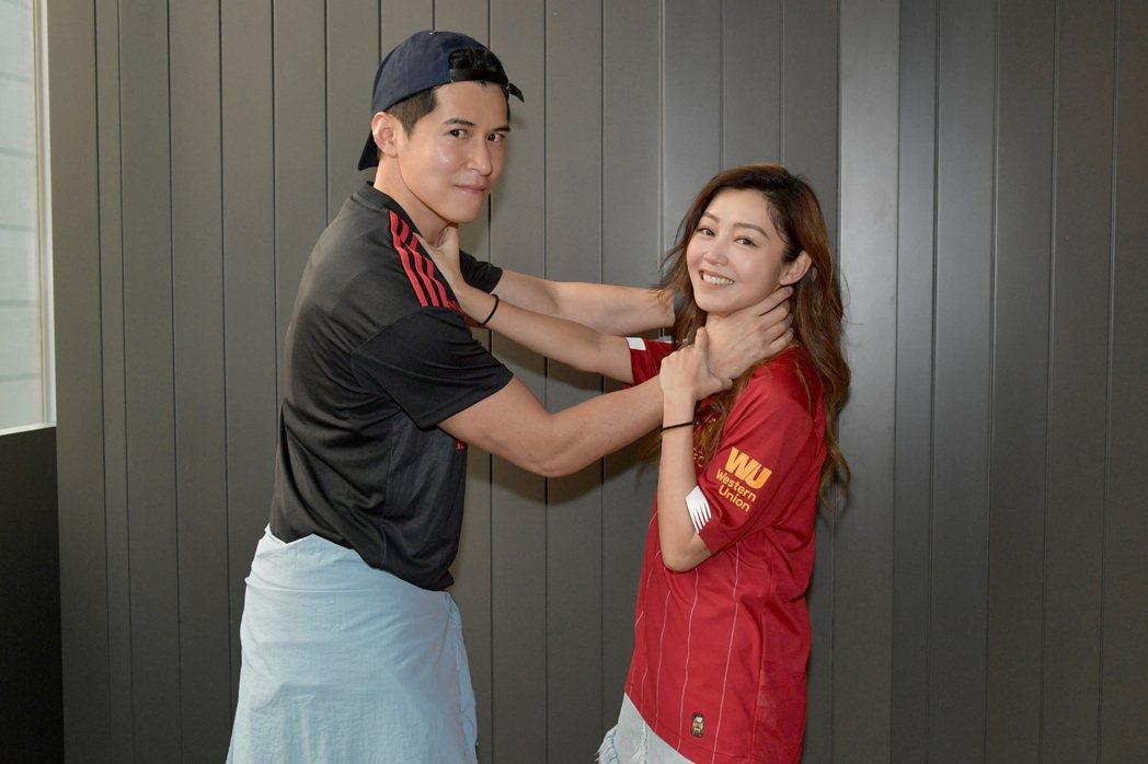 「不日成婚」衛詩雅、陳家樂有浪漫演出。圖/華映提供