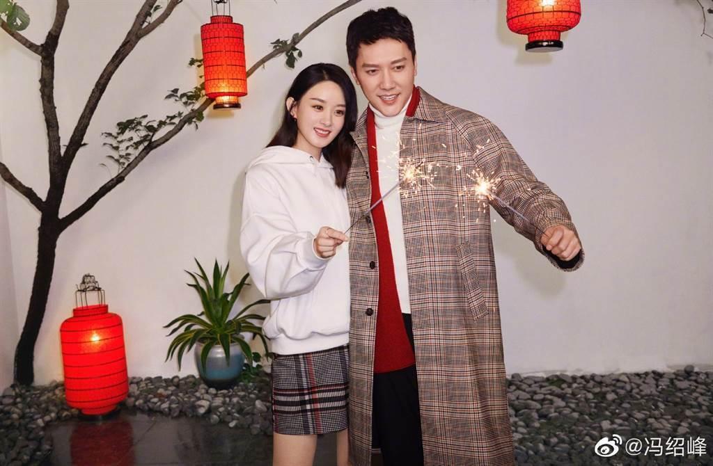 趙麗穎、馮紹峰證實離婚,透露主因是因為工作忙碌,聚少離多。圖/摘自微博
