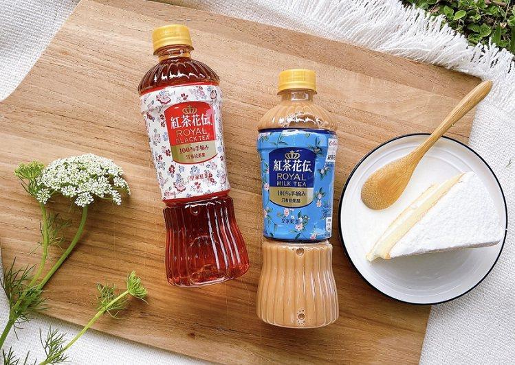 日本暢銷茶飲品牌「紅茶花伝」首次攜手英倫印花品牌「Cath Kidston」,打...