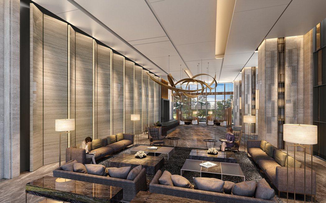 豪宅推手張真一,規劃星級飯店式公設,讓住戶回家更勝度假。圖/ 興富發提供